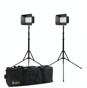 IKAN MYLO MB4 KIT MINI BI-COLOR 2,3 O 4 PUNTOS CON 2 X MB4 + DV BATTERIES
